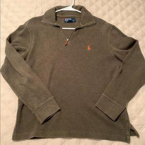 Polo by Ralph Lauren Shirts - Quarter zip polo Ralph Lauren men's small